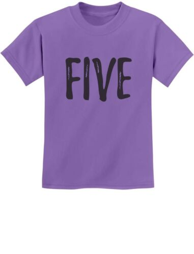 5th Birthday Gift For Five Year Old Child Youth Kids T-Shirt Fifth Birthday