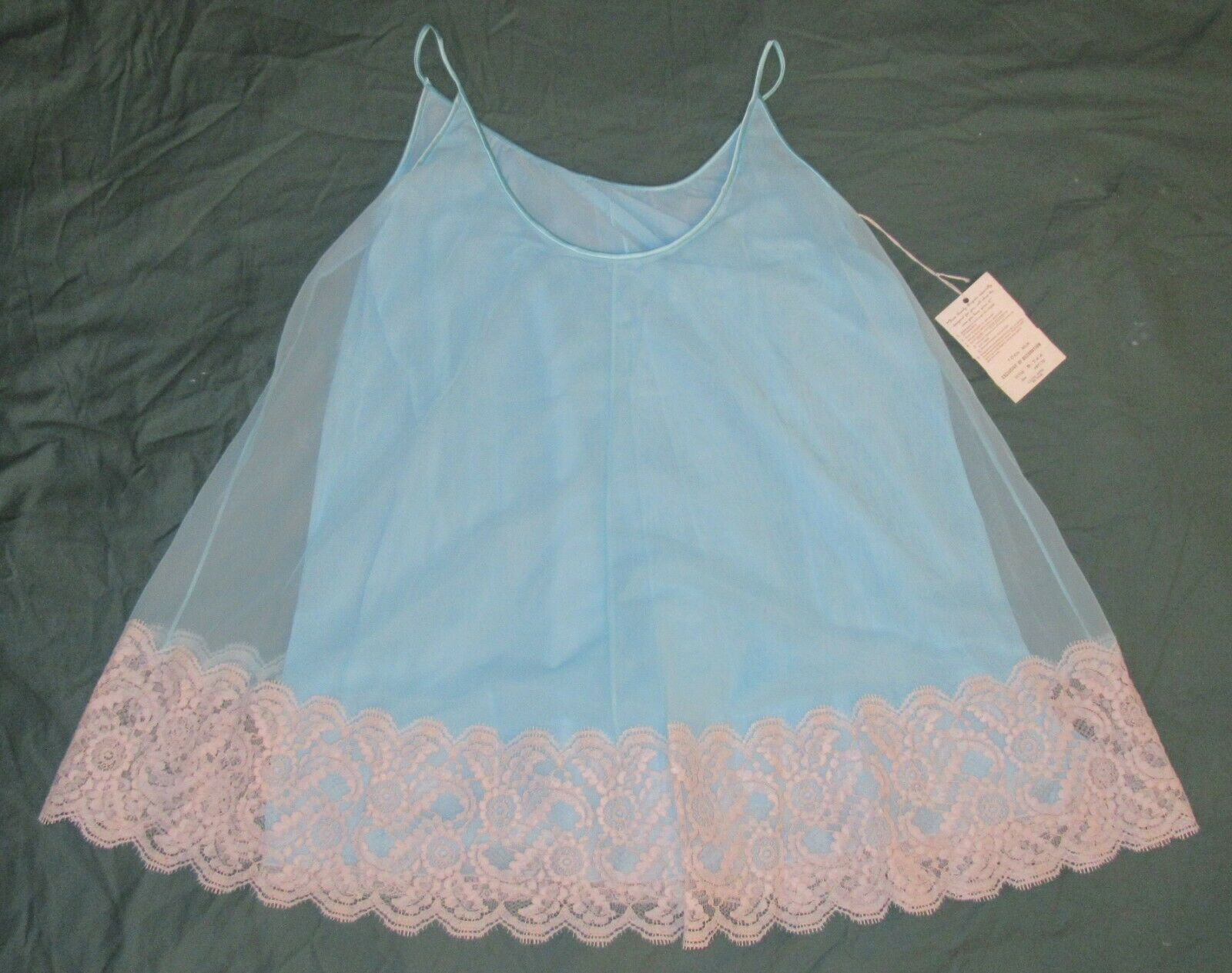 Vintage Lucie Ann Woman's Baby Doll Nightie NWT M… - image 6
