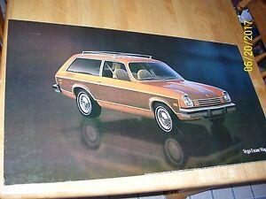 Awesome Details About Vintage Chevrolet Vega Wagon Gm Dealer Showroom Poster Sign 32X18 Cardboard Download Free Architecture Designs Scobabritishbridgeorg
