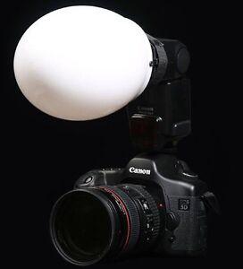 On-Camera-Flash-Diffusion-Globe-Canon-Nikon-Metz-more-Fitting-B