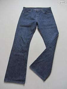 Levi-039-s-507-Bootcut-Jeans-Hose-W-36-L-34-034-sta-dark-034-washed-Denim-RARITAT