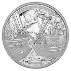 2013 Canada $50 Fine .9999 Silver Coin - HMS Shannon & USS Chesapeake
