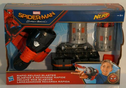 B9702 Spider Man Homecoming-Nerf Deluxe Web Blaster