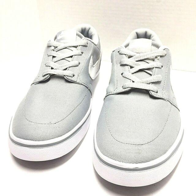 7a43425ac921e Nike SB Portmore II Solar CNVS Canvas Skate Shoes Wolf Grey Size 11Us New  No Box