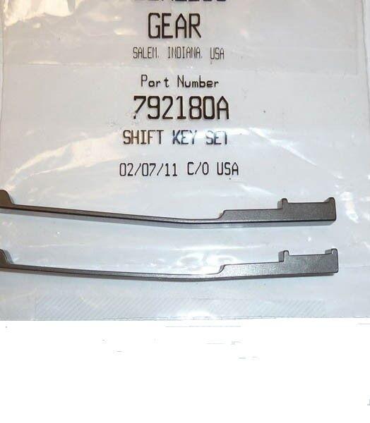 Tecumseh Peerless 792180A Transmission Shaft Keys Set of 2 OEM