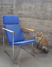 Seltener Easy Lounge Lobby Chair I Skaala 475 I blau I Yrjö Kukkapuro I NP 1700€