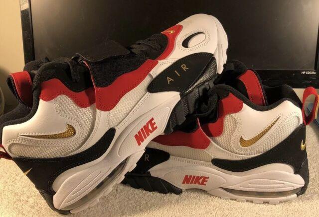 buy online 5d8b9 212c4 Nike Air Max Speed Turf 49ers 2018 White Black Red Diamond 525225-101 Size  14
