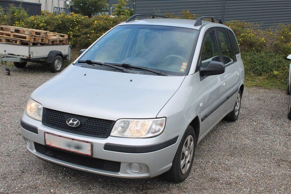 Hyundai Matrix 1,6 Benzin modelår 2007 km 246000 Sølvmetal