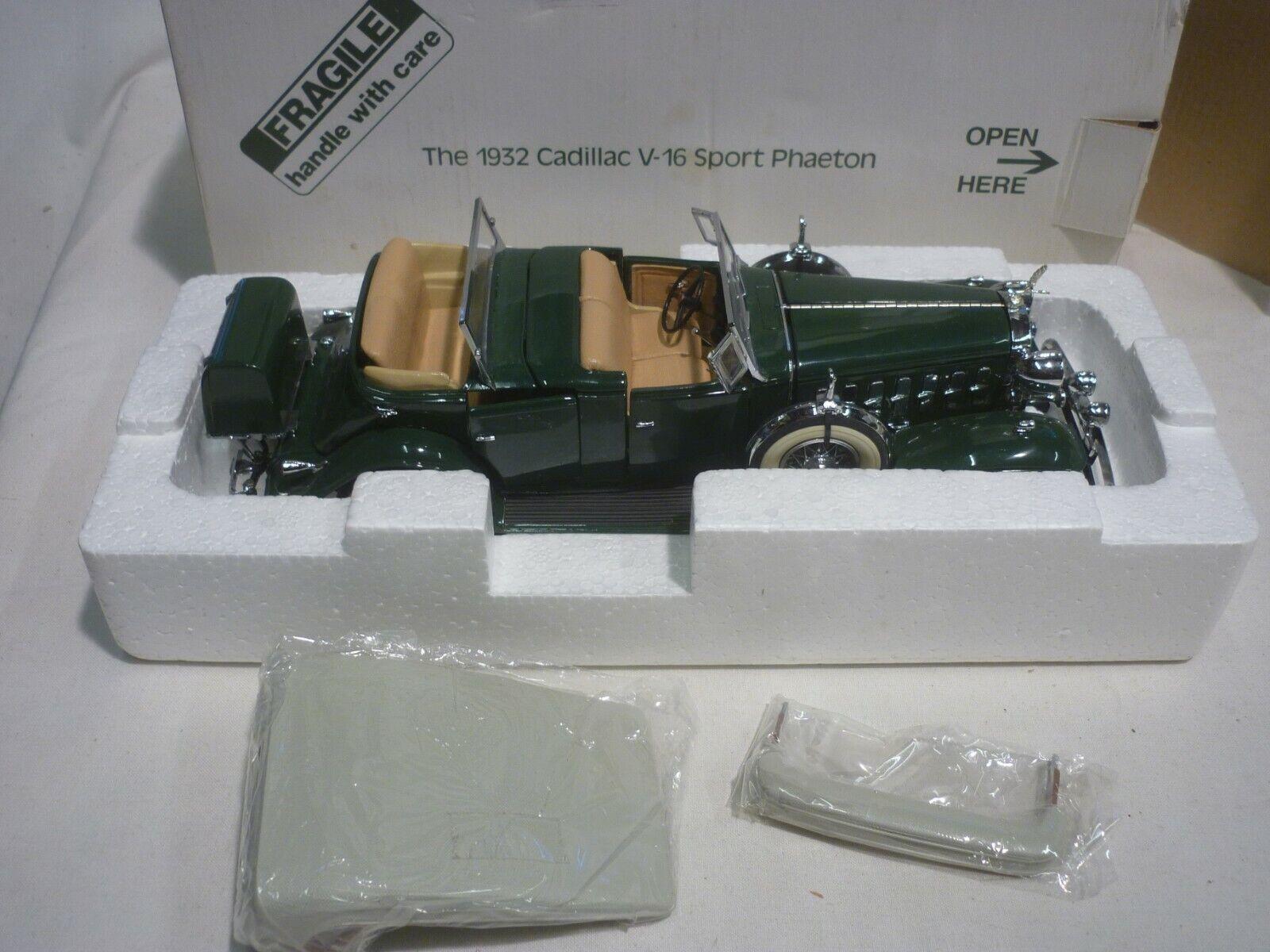 Danbury mint 1932 Cadillac V16 Sport Phaeton,  Boxed, ( NMB )