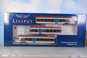 Liliput H0 Br. ET 130 Regionaltriebwagen FLIRT der BLB 3