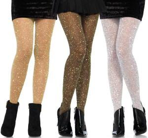 neueste trends beste Auswahl an viele modisch Details zu LAG 7130 Strumpfhose Stockings Strümpfe Lurex Glitzer silber  gold schwarz rot