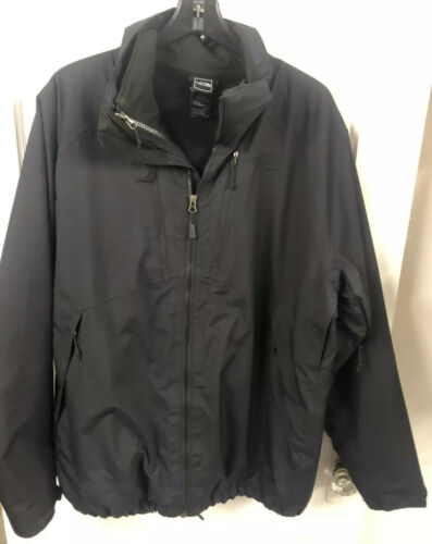 North Face mens XL 2jacket with inside vest and zi