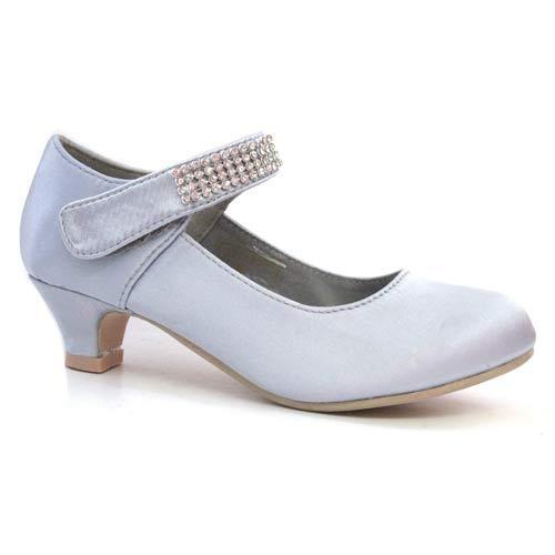 Ragazze wedding shoes kids bambini partito abito damigelle Costume Danza Scarpe Taglia