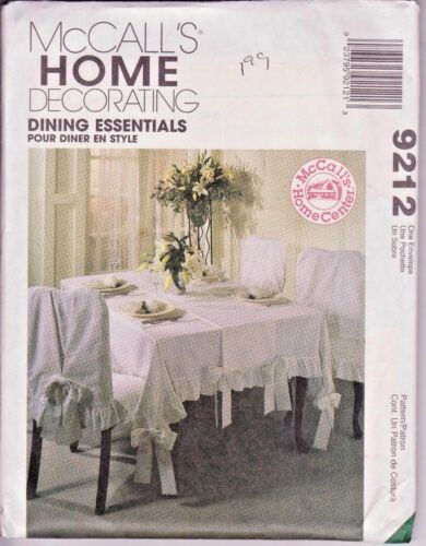 UNCUT in FF Many McCALLS Home Decorating Choose Your Pattern!!
