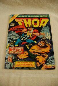 MARVEL-TREASURY-EDITION-10-THE-MIGHTY-THOR-JACK-KIRBY-COVER-1976-COMIC