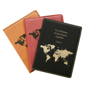 ff6ad237c07a Details about Passport Cover, Passport Holder Personalized, Leather  Passport, Travel Passport
