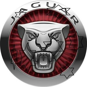 JAGUAR-CAR-DECAL-STICKER-LABEL-9-INCH-DIA-230-MM-HOT-ROD