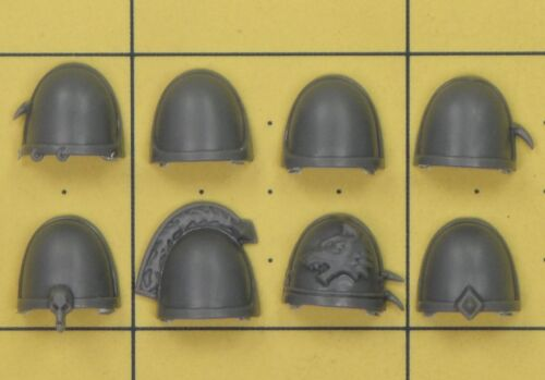 WARHAMMER 40K SPACE MARINES SPACE WOLVES THUNDERWOLF Cavalry épaulettes