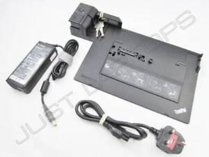 Lenovo THINKPAD L412 L420 L430 Dockingstation USB 2.0 Inklusive 90W PSU + Tasten