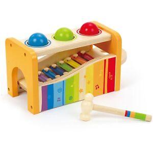 Hape-2in1-Xylophon-und-Hammerspiel-Musikinstrument