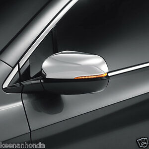 Genuine Oem Honda Pilot Chrome Door Mirror Cover Trim 2016