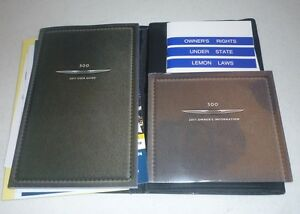 2011 chrysler 300 user guide owners manual dvd w case 11 ebay rh ebay com 2011 chrysler 300 awd owners manual 2012 chrysler 300c owners manual