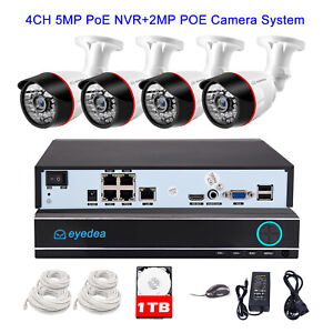 Eyedea-4-CH-1080P-PoE-NVR-2-0MP-IP-Outdoor-Phone-View-Security-Camera-System-1TB