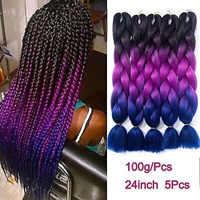 Ombre Braiding Hair Kanekalon Synthetic