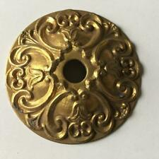 "NEW-OLD STOCK SPANISH Cast Brass Chandelier Body 3-9//16/""OD 5 Side Hole lamp part"