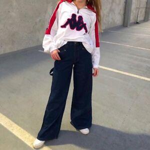 Mujer Chica Vintage Para Hombre 90s Holgado Skater Vaqueros 66cm 71 1cm 76 2cm Ebay