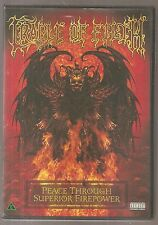 Cradle Of Filth - Peace Through Superior Firepower 2005