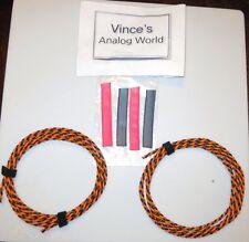 Belden 9497 Speaker Cable 15 foot bare wire pair  for Altec JBL Shindo, Kondo