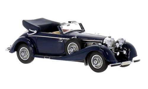 Mercedes 500 540K Cabriolet Blau Foncé - 1936  Neo1 43