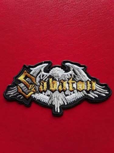SABATON SWEDISH HEAVY METAL HARD ROCK MUSIC BAND EMBROIDERED PATCH UK SELLER