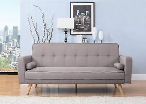 Image Is Loading Birlea Ethan Sofa Bed Settee 3 Seater Click