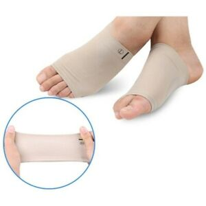 Silicone Massage Foot Arch Support Gel Heel Cushion Insole Sore Relief Flat Feet