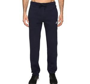Nike-Men-039-s-Navy-Club-Fleece-Cuffed-Activewear-Pant-10011-Size-L