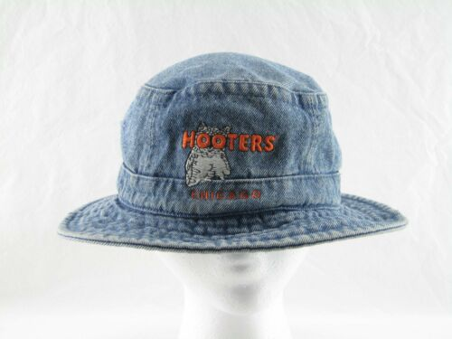 Hooters Bucket Hat Vintage Hooters Chicago Floppy