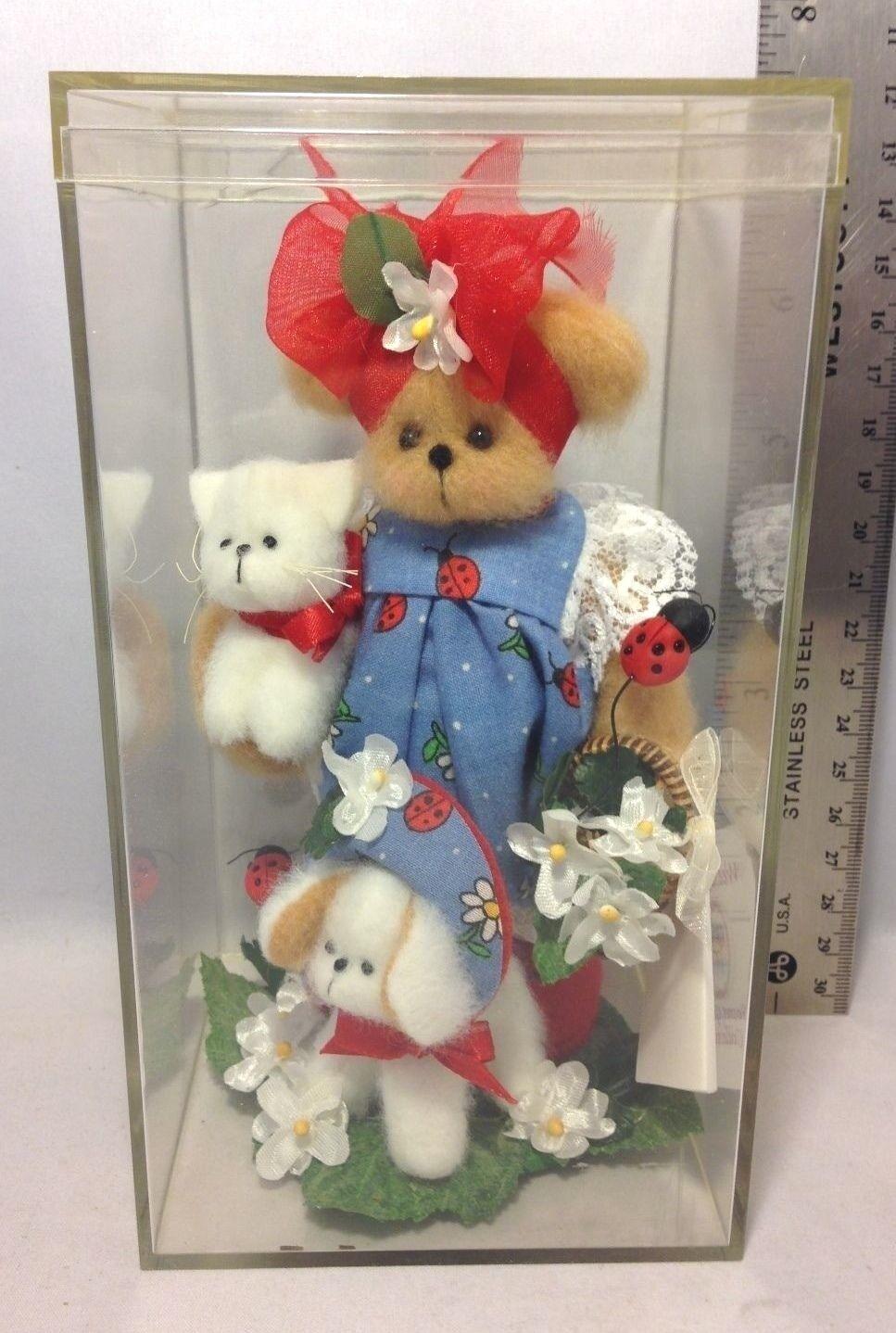 1 400 Wee B Bears Doll - Secret Garden Collection  Lacie & Ladybug Garden Club