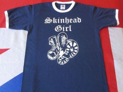 Skinhead girl bottes son un mode de vie marine ringer