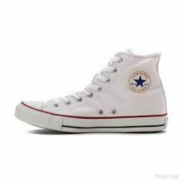 converse taylor, womens Converse canvas shoes white red