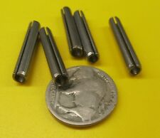 """420 Stainless Steel 4 pcs 3//8/"""" Dia x 4.00/"""" Length Slotted Roll Spring Pin"""
