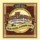 2 X Ernie Ball Earthwood 80 / 20 Silk & Steel 12-string Acoustic Guitar Strings