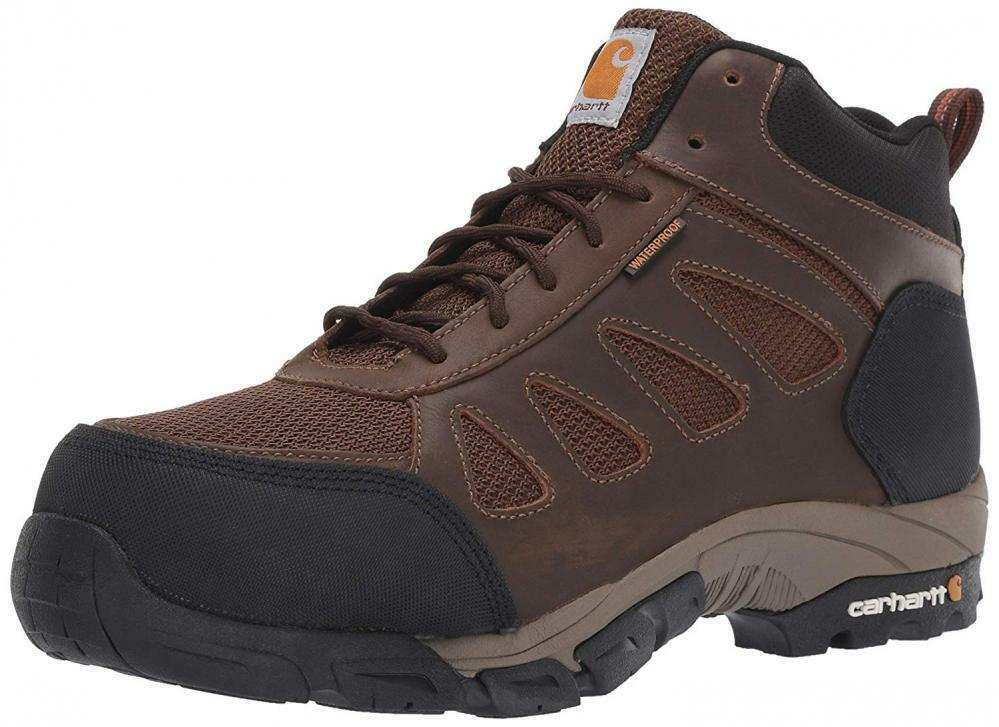 Carhartt Men's Lightweight Wtrprf Mid-Height Work Hiker Carbon Nano Safety...