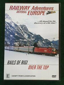 RAILWAY ADVENTURES ACROSS EUROPE - Rails of Rigi Over the top - DVD