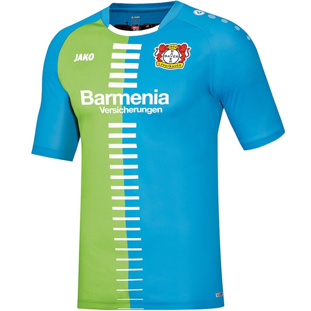 Jako Bayer Leverkusen Maglia Edizione specialeee Bluverde 20162017 [BA4216S]