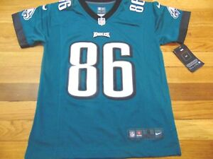 NIKE NFL ON FIELD PHILADELPHIA EAGLES ZACH ERTZ JERSEY SIZE YOUTH S ... 2eb10d66f