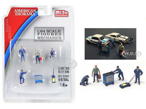 034-MECHANICS-034-6-PC-FIGURES-amp-ACCESSORIES-SET-1-64-DIECAST-AMERICAN-DIORAMA-38400