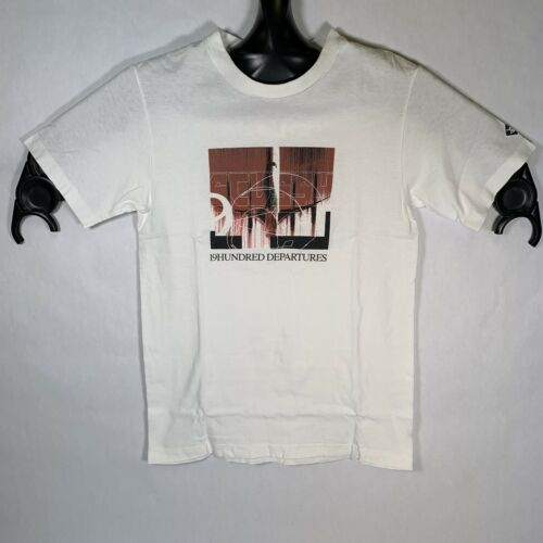 Vintage 1990s XL Deadstock Small Town Country Bar Tee With Pocket Single Stitch