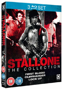 Stallone-Primo-Sangue-Cliffhanger-Lock-Up-Blu-Ray-Nuovo-OPTBD1977